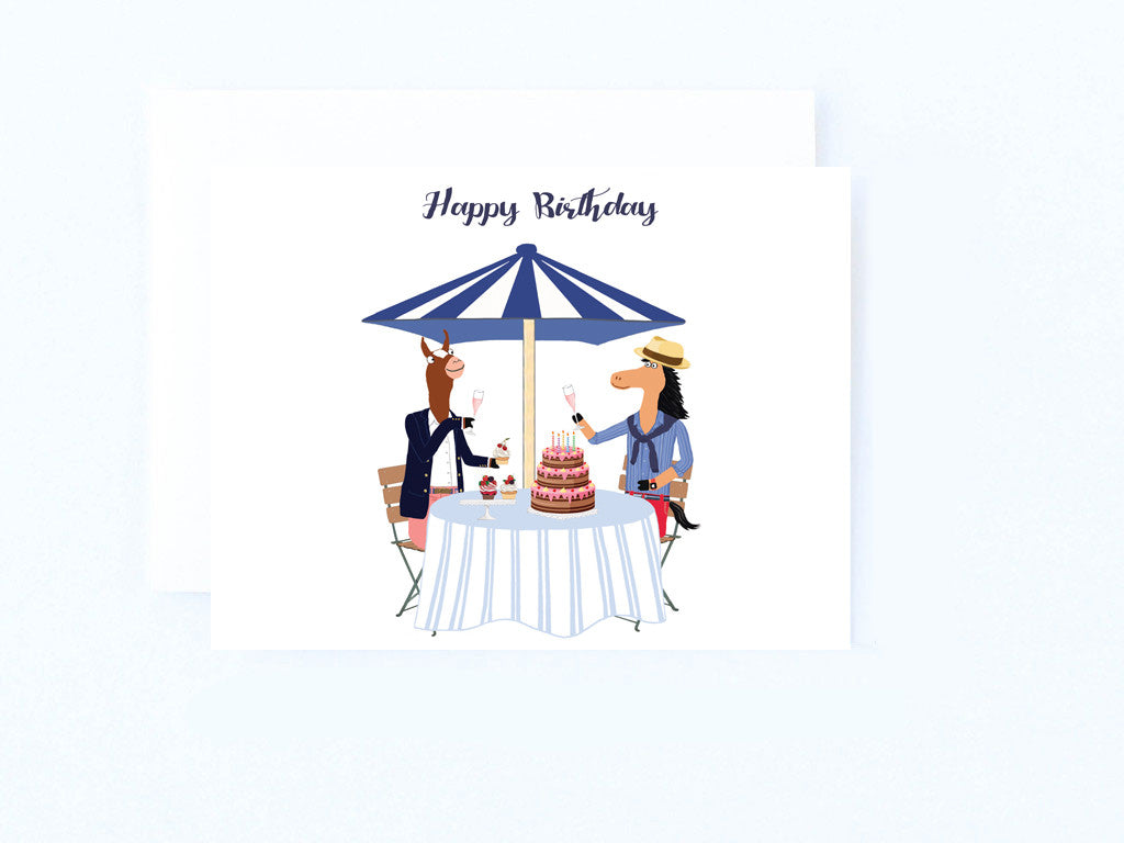 Birthday Luncheon Card