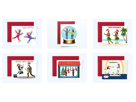 Boxed Set of 6 Assorted Holiday Cards