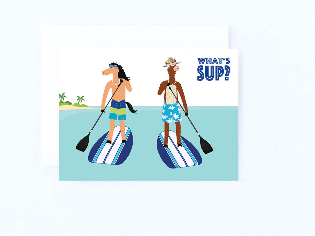 What's SUP Paddleboard Card
