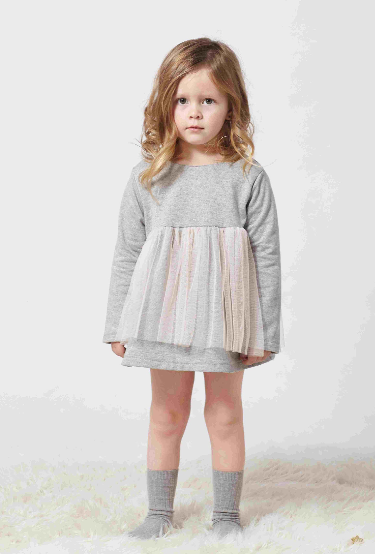 Angel Baby Dress and Bloomers Set