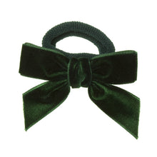 Beautiful Velvet hair medium bow , a unique handmade piece! Elastic hair band. Wholesale Olivia Ann Accessories