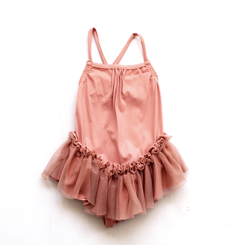 Tutu Swimsuit - Blush Pink (LAST ONE SIZE 8!)