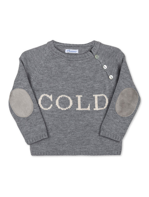 Cold Grey Jumper