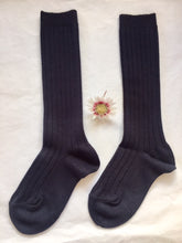 CONDOR Ribbed High Knee Socks - NAVY