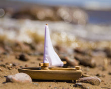 Wooden Sailboat -medium