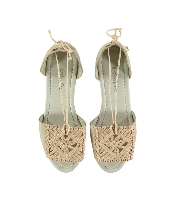 Plaited Espadrille / Jute-Natural