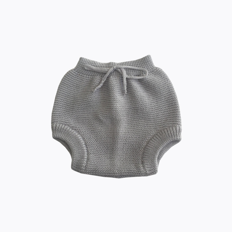 Knitted Bloomers in Grey