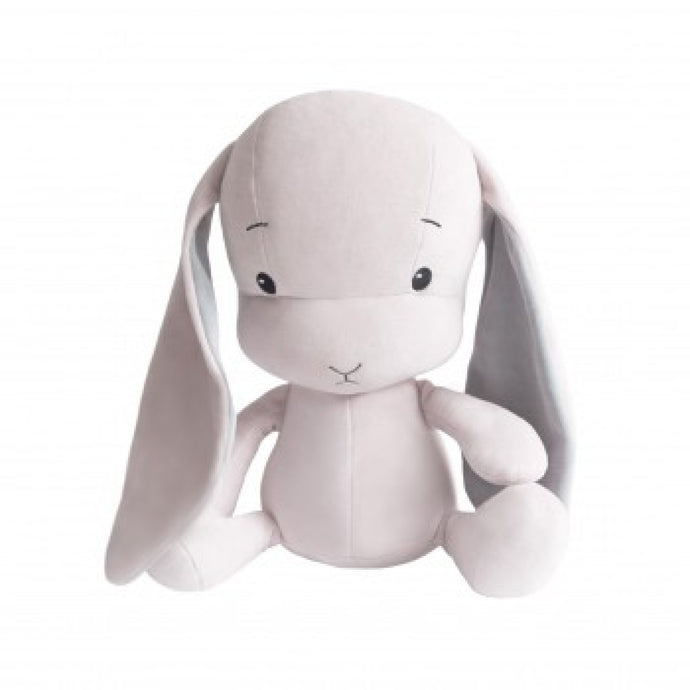 Bunny, Medium, Pink grey ears - 35 cm