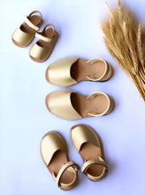 Authentic leather avarcas crafted in Menorca Spain. Available in difference sizes for the whole family. From baby to adults. Avarcas, Sandals, Menorquinas leather shoes