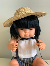 Doll's Straw Hat - (For 32 up to 40+ cm dolls).