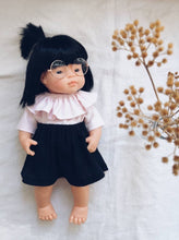 Doll Romper with Collar and Skirt- Medium ( Fits 30-38 cm dolls / 11-15 inch)