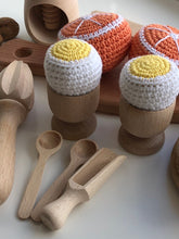 "Crochet Play Set ""French Breakfast"" - Montessori Learning Focus"