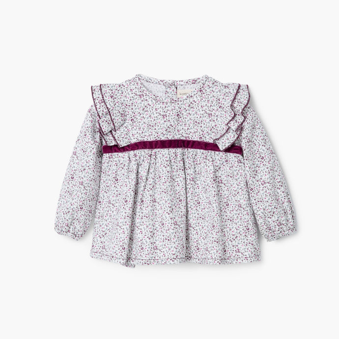 In Bloom Baby Blouse