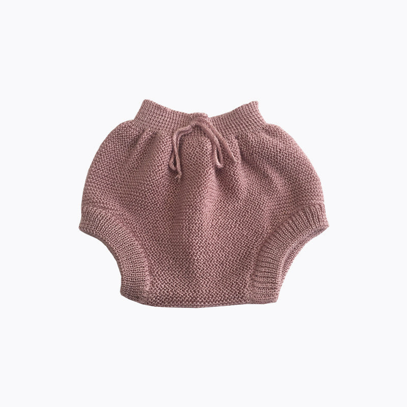 Knitted bloomers Vintage Pink