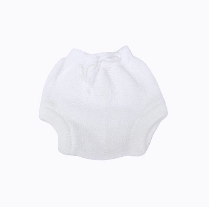 Knitted bloomers in White