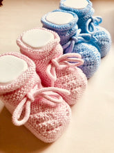 Adorable Knitted Baby Booties.Made with divine details thorough. Extreme attention to detail.