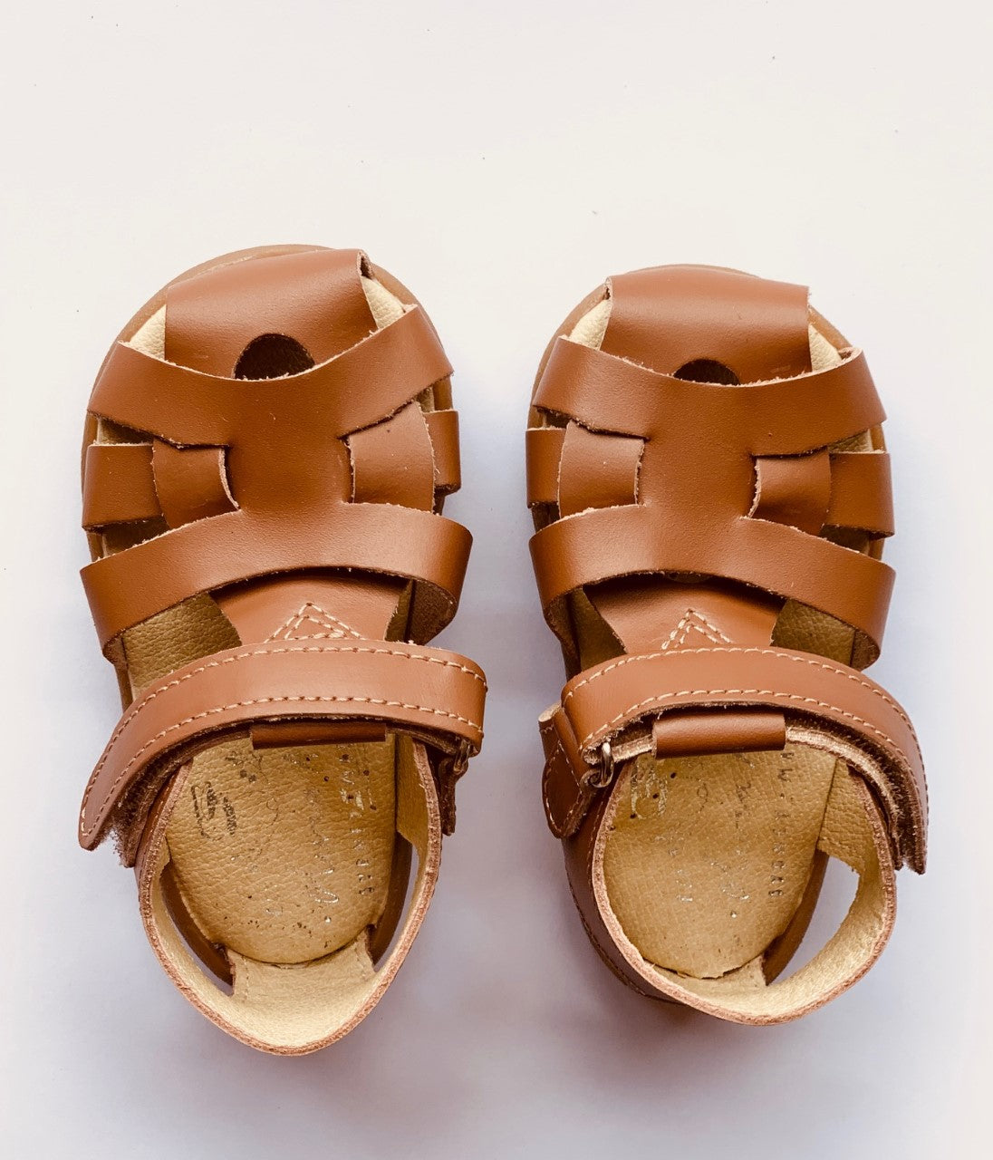 The Olivia Ann Roman sandals are perfect for everyday wear for your little one. Their unique design keeps their feet comfortable and promotes healthy foot development. Podiatrist approved.