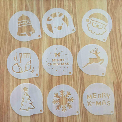 CraftsCapitol™ Premium Baking Christmas Mold Set [12PCS]