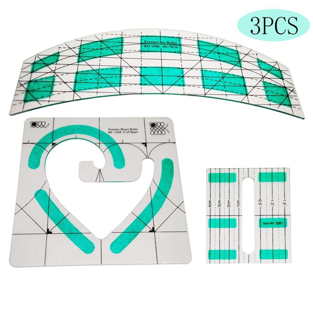 CraftCapitol™ Premium Heart Shaped Quilting Template