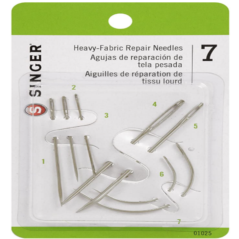 CraftsCapitol™ Premium Heavy Duty Household Hand Needles (10 Sets)