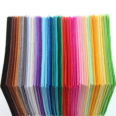 2017 Farbest™ Polyester Felt Fabric Pack 40 Colors [15CM*15CM]