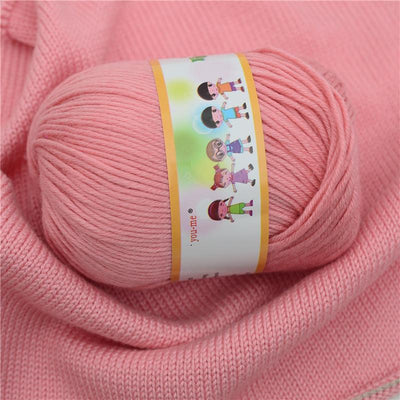 YarnCo™ Cotton Silk Knitting Yarn - 1PCS