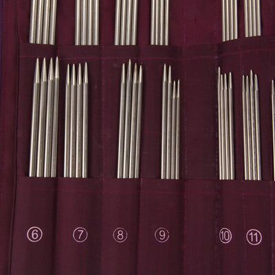 NEW 20 Different Sizes Stainless Steel Knitting Needles Crochet Hook - 104pcs/Set With Bag