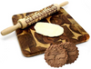 CraftsCapitol™ Premium Christmas 3D Rolling Pin (FREE 1 COOKIES CUT SET)