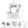 CraftsCapitol™ Mini Sewing Machine Upgraded Model in 2020