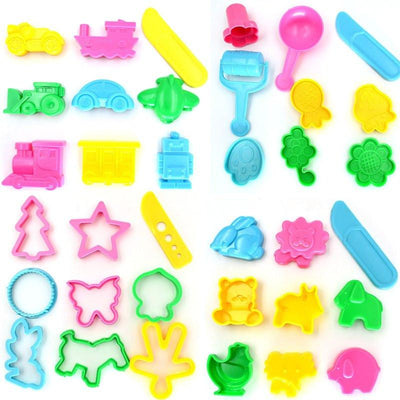 36pcs Unparalleled Tools Polymer Clay Plasticine Mold Set Kit