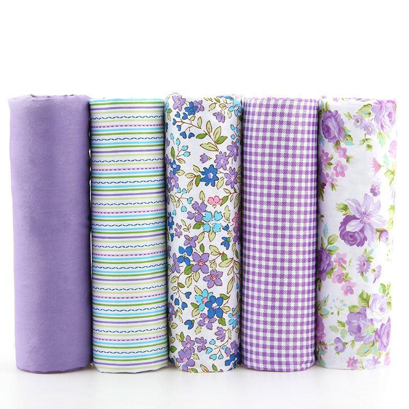 CraftsCapitol™ Premium 100% Cotton Fabric Pack 5PCS [40CM*50CM]