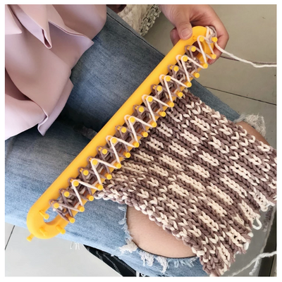 CraftsCapitol™ Premium Knitting Loom [FREE 1 KNITTING KIT]