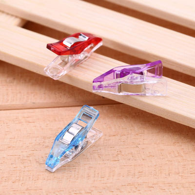 CraftsCapitol™ Premium Mixed Wonder Clips [50PCS]