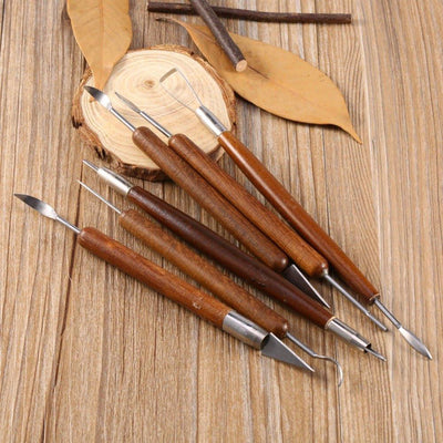 6pcs Unparalleled Clay Sculpting Set Wax -  Carving Pottery Tools