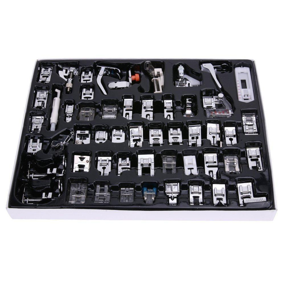 CraftsCapitol™ Premium Master Sewing Machine Presser Foot Set [52PCS]