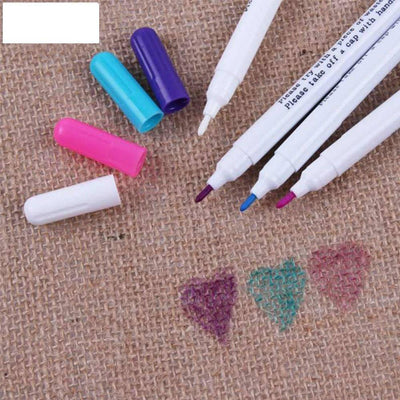Unparalleled Fabric Water Erasable Markers Pack 4PCS