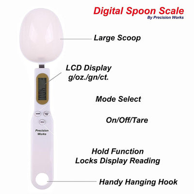CraftsCapitol™ Premium Digital Measuring Spoons