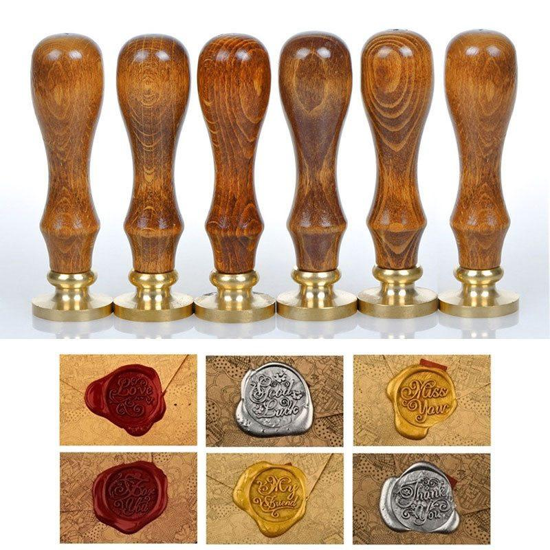 Unparalleled Classic Sealing Wax Initial Wax Seal Stamp