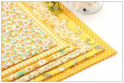 CraftsCapitol™ Premium Cotton Fabric Pack 6PCS [50CM*50CM]