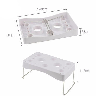 CraftsCapitol™ Premium 8-Hole Cake Decorating Pastry Bag Holder