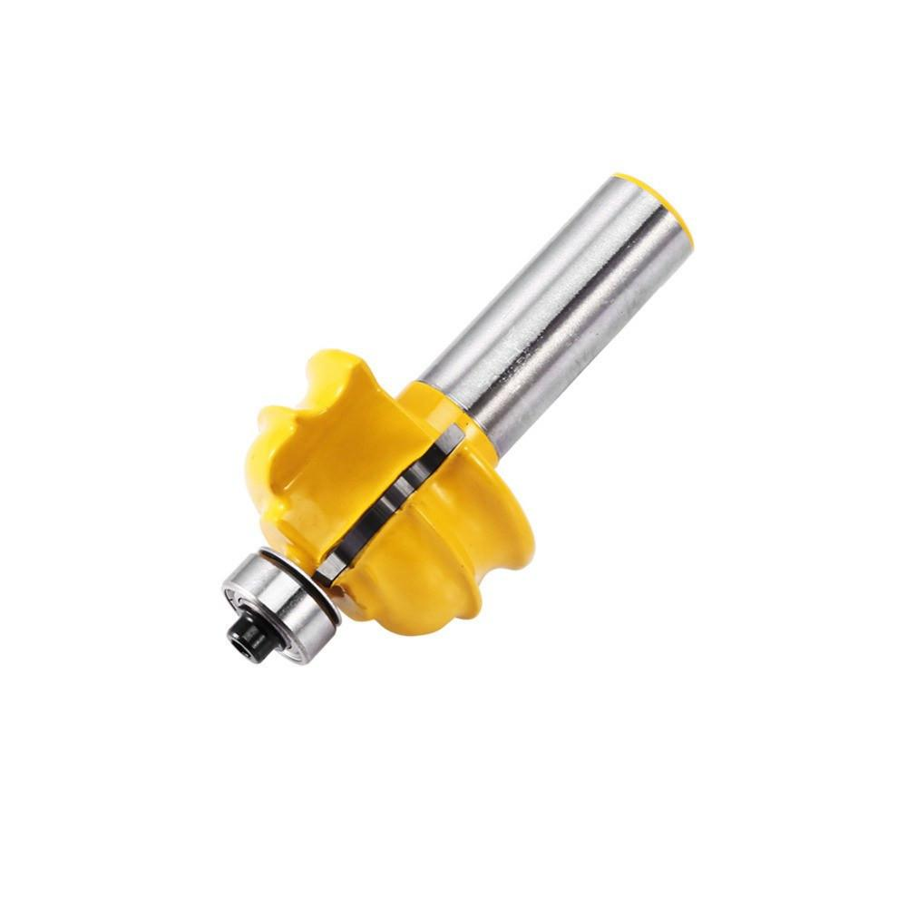 CraftsCapitol™ Premium Router Bit 1/2'' Shank Cove Shaker