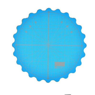 "CraftsCapitol™ Premium 360 Rotating Cutting Mat (8"" diameter)"