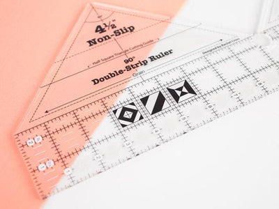 CraftsCapitol™ Premium Double Strip 90 Degree Ruler
