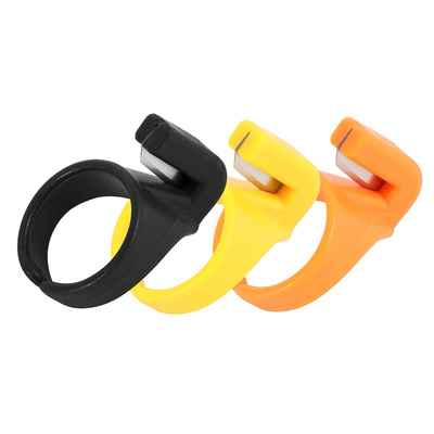 CraftsCapitol™ Premium Quilting Finger Ring Thread Cutter (3PCS)