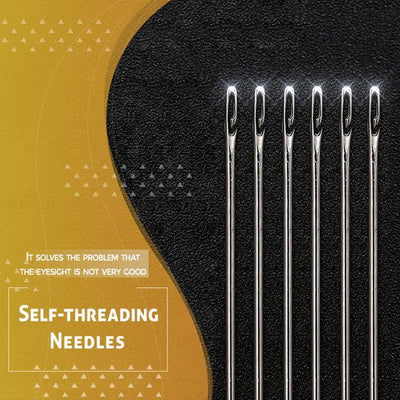 CraftsCapitol™ Premium Easy Blind Needle (Free Mahogany Tube)
