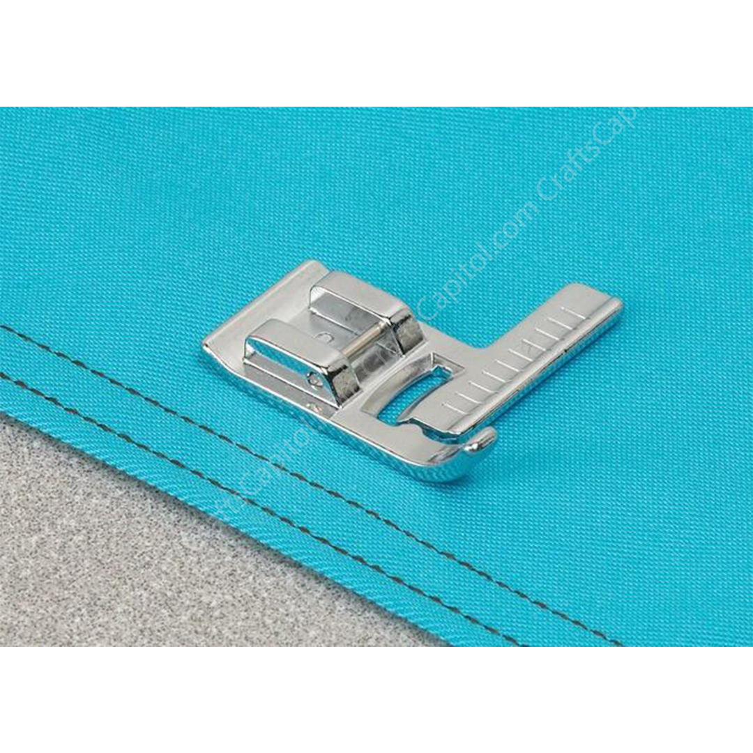 CraftsCapitol™ Premium Perfect Ruler Stitch Sewing Foot