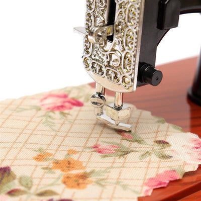 CraftsCapitol™ Premium Sewing Machine Music Box