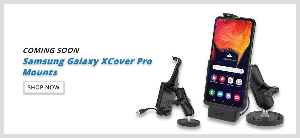Samsung Xcover Pro Holder - RAM Mounts New Zealand - Mounts NZ