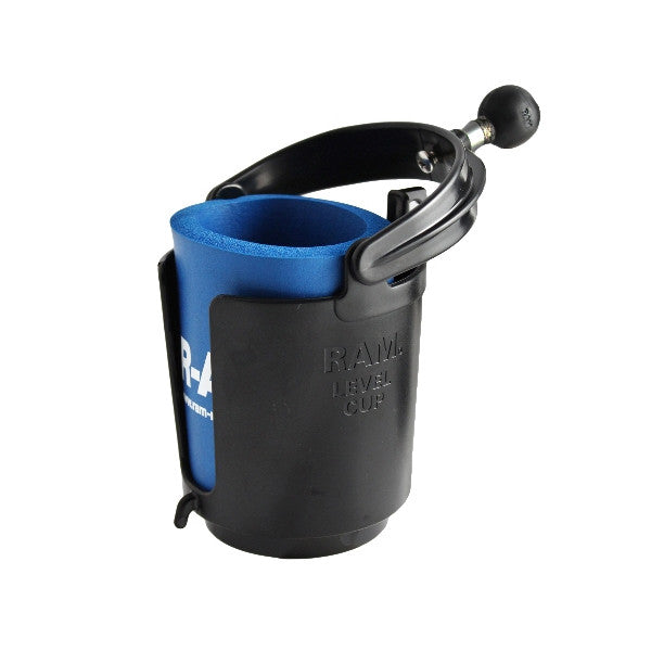 RAM Level Cup Drink Holder with Koozie (RAM-B-132BU) - Image1