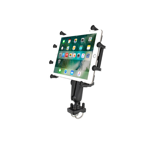 "RAM® X-Grip® Mount with Double U-Bolt Base for 9""-10"" Tablets (RAM-HOL-UN9-235U)"